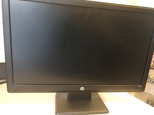 HP Computer monitor 30$ for Sale in Lawrence Township, NJ
