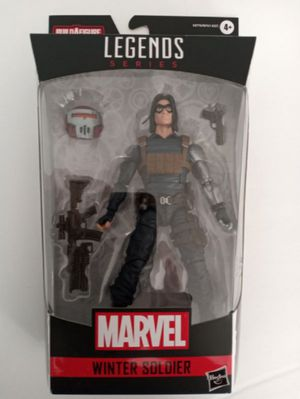 Marvel Legends Winter Soldier Collectible Action Figure Toy with Crimson Dynamo Build a Figure Piece for Sale in Chicago, IL