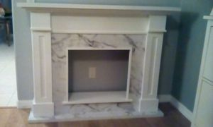 BEAUTIFUL FIREPLACE MANTEL IN PERFECT BRAND NEW CONDITION for Sale in Orlando, FL