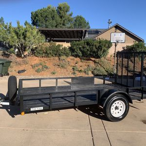 2017 Ronco 6 1/2 Ft X 12 Ft Utility Trailer - Excellent Condition for Sale in Alpine, CA