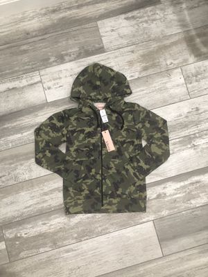 LF Bohemian Camo Zip Up Jacket in US 4 for Sale in Houston, TX