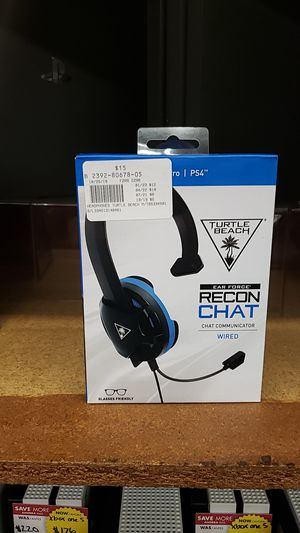 Turtle beach wired ps4 headset for Sale in Chicago, IL