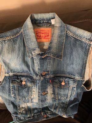 Levi Jean jacket for Sale in Fayetteville, GA