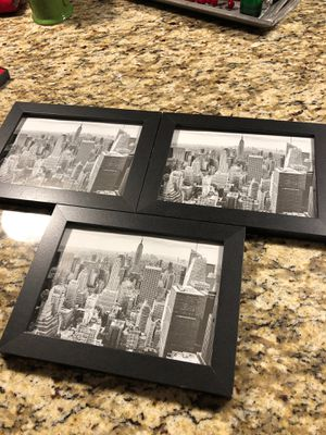 3 - 5x7 picture frames - All 3 for $5 for Sale in Woodbury, MN