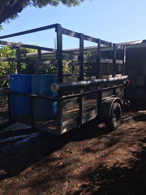 6x10 utility trailer, new tires. for Sale in Pompano Beach, FL