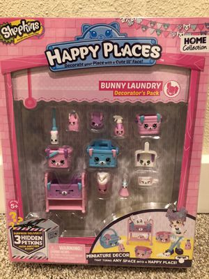 Shopkins Happy Places Bunny Laundry for Sale in Camas, WA