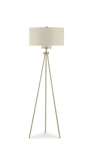 INK+IVY Pacific Tripod Floor Lamp Gold for Sale in New York, NY