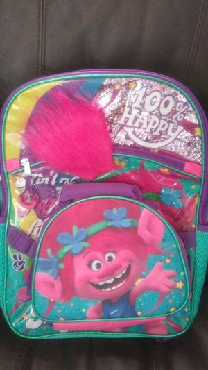 Girls Trolls Backpack for Sale in South Gate, CA