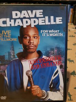 Dave Chappelle Stand Up DVD for Sale in Seabrook,  TX