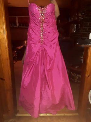 Hot pink prom dress for Sale in Sylacauga, AL