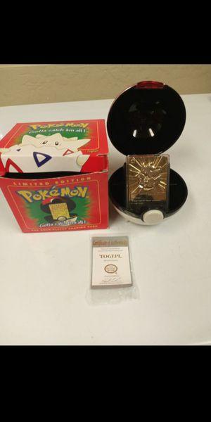Gold Pokemon cards for Sale in Glendale, AZ