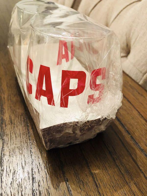 ALL CAPS Wine Glasses