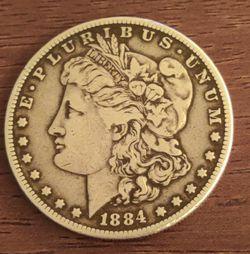 1884 Morgan Silver Dollar for Sale in Portland,  OR