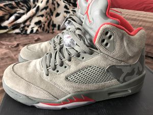 Jordan retro camo 5's Men's size 11🔥🔥🔥🔥🔥🔥🔥🔥🔥🔥🔥🔥🔥🔥 for Sale in Fresno, CA