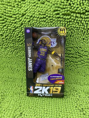 Lebron James 2K19 Action Figure NEW in original condition for Sale in Las Vegas, NV