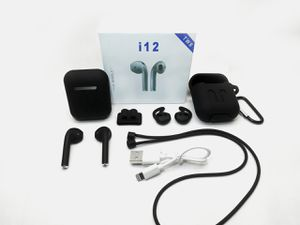 I12 TWS Black Bluetooth Earphones Wireless Headphones / Earbuds / Airpods i12 TWS for Apple IOS or Android for Sale in Frostproof, FL