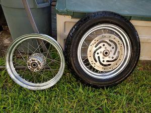 "Harley Davidson 16"" wheels tires brakes for Sale in Jacksonville, FL"