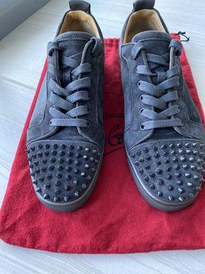 Christian Louboutin men's sneakers size 12 for Sale in Miami, FL