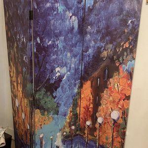 Two Room Divider Screens, Impressionist Design for Sale in Meriden, CT