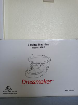 Dress Maker Sewing Machine for Sale in Antioch, CA