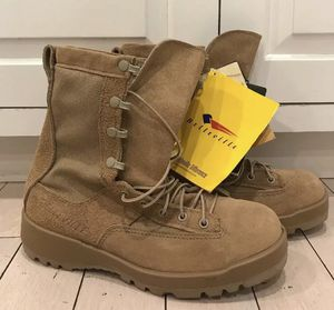 Men's Belleville 790V Gore-Tex Vibram Tan Military Desert Combat Boots US 6.5 N for Sale in Blackstone, MA