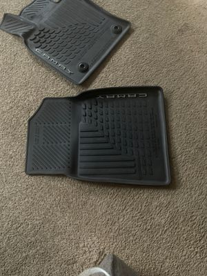 2019 Camry XSE Rubber floor mats for Sale in Silver Spring, MD