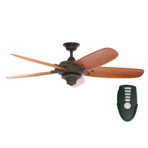 Home Decorators Collection Altura 56 in. Indoor Oil Rubbed Bronze Ceiling Fan with Remote Control NEW for Sale in Plantation, FL