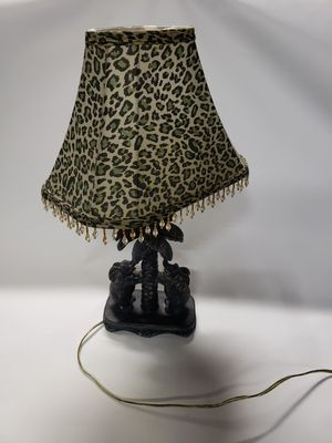 Leopard Print Palm Tree Elephant Lamp for Sale in Glen Allen, VA