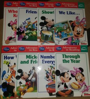 Disney learning to read books for Sale in Mansfield, TX