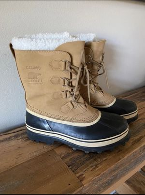 Sorel Caribou Waterproof Boots, Size 10 for Sale in Seabeck, WA