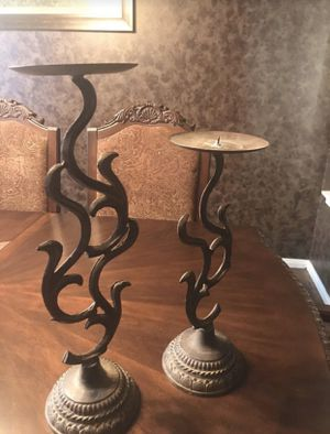 Rustic Iron Candels Set for Sale in Pearland, TX