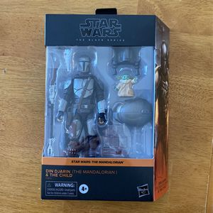 Star Wars Black Series Mandalorian Action Figure for Sale in Knoxville, TN