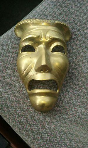 Solid brass marti gra mask for Sale in Lynchburg, VA