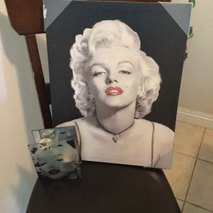 Marylin Monroe frame and candle holder for Sale in Fontana, CA