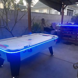 Air Hockey Table With Led Lights for Sale in La Verne, CA