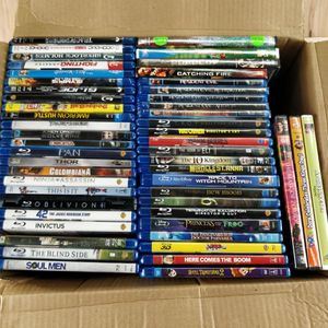 Blu-ray (46) and DVD (7) movies for Sale in Purcellville, VA