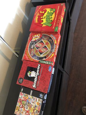 Board games + puzzle for Sale in San Diego, CA