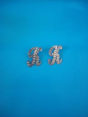 10k gold cursive earrings for Sale in Los Angeles, CA