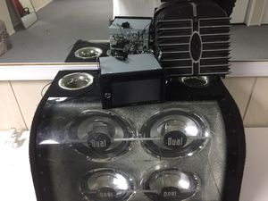 Car subwoofer system with dvd for Sale in Rockville, MD