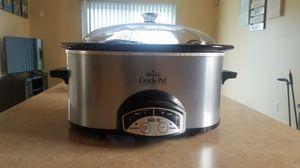 Rival Smart-Pot Programmable Crock Pot for Sale in Belleville, MI
