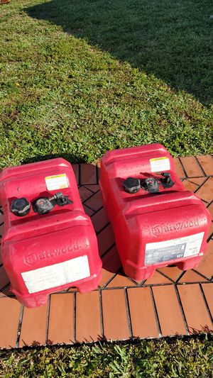 Two 12gal fuel tanks for boat for Sale in Pompano Beach, FL
