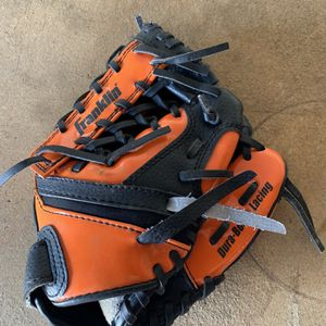 "Franklin Series 4612 9.5"" Orange Black Baseball Glove for Sale in San Dimas, CA"