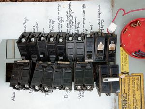 Electrical residential Breaker switches for Sale in Mesa, AZ
