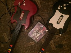 Ps2 guitar and game for Sale in Orange, CA
