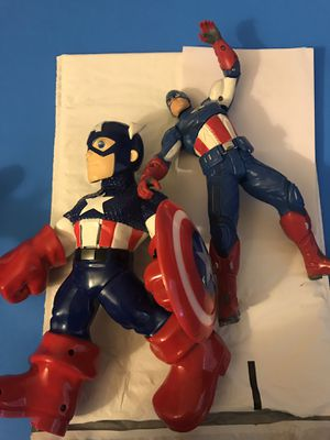 Captain America Action Figures for Sale in Fair Oaks, CA