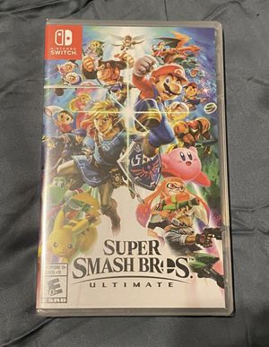 Brand new unopened. Super Smash Bros Ultimate for Nintendo Switch for Sale in St. Louis, MO