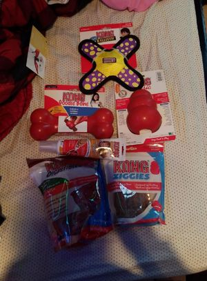 Kong dog toys and treats! Brand new for Sale in Midland, MI