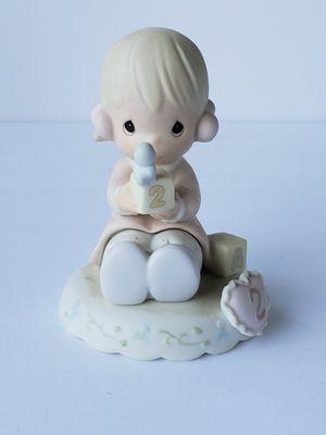 "Grace Age 2"" Bisque Porcelain Figurine Blonde Girl for Sale in Clovis, CA"