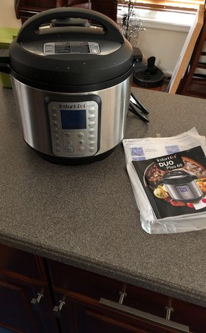 INSTANT POT 150 retail!!! Used < 3 times!!! for Sale in Vienna, VA