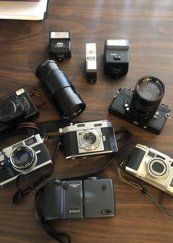 Lot Of Cameras, Flashes, And Lens for Sale in Tucson,  AZ